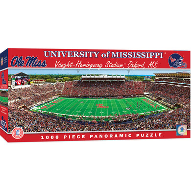 Ole Miss Rebels Football Panoramic Puzzle