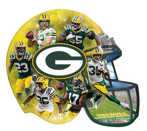green bay packers puzzle