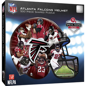 Atlanta Falcons Helmet Shaped Puzzle