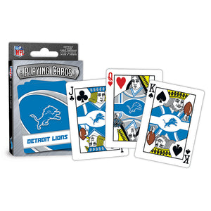 Detroit Lions Playing Cards