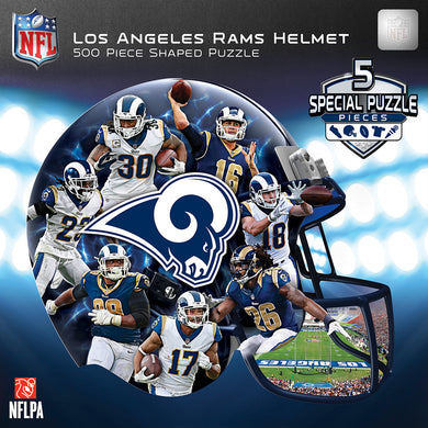 Los Angeles Rams Helmet Puzzle
