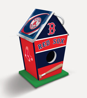 Boston Red Sox Birdhouse