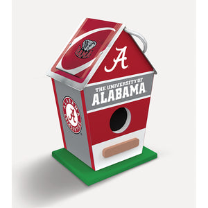 Alabama Crimson Tide Birdhouse