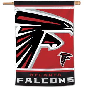 "Atlanta Falcons Mega Logo Vertical Flag - 28""x40"""