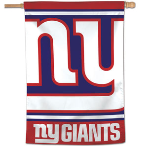 "New York Giants Mega Logo Vertical Flag - 28""x40"""