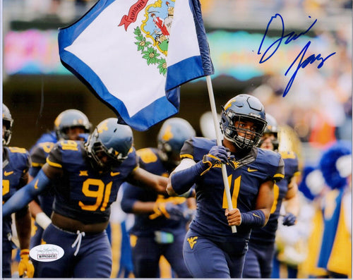 David Long West Virginia Mountaineers Signed 8x10 Photo