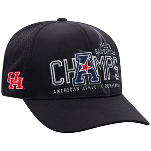 Houston Cougars 2021 American Athletic Basketball Tournament Champions Locker Room Hat