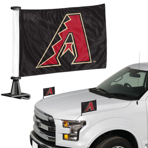 diamondbacks car flag