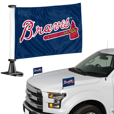Atlanta Braves Ambassador Car Flag