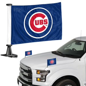 cubs car flag