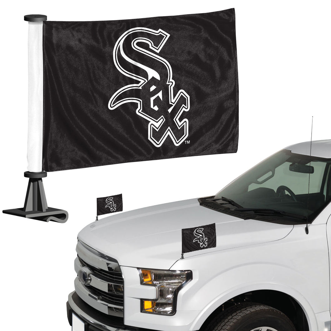 white sox car flag