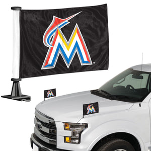miami marlins car flag