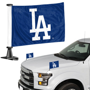 la dodgers car flag, los angeles dodgers car flag