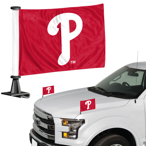 philadelphia phillies car flag