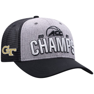 Georgia Tech Yellow Jackets 2021 ACC Basketball Tournament Champions Locker Room Hat