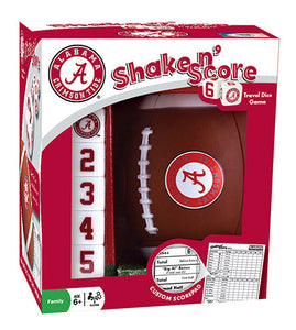 alabama crimson tide football shake and score game