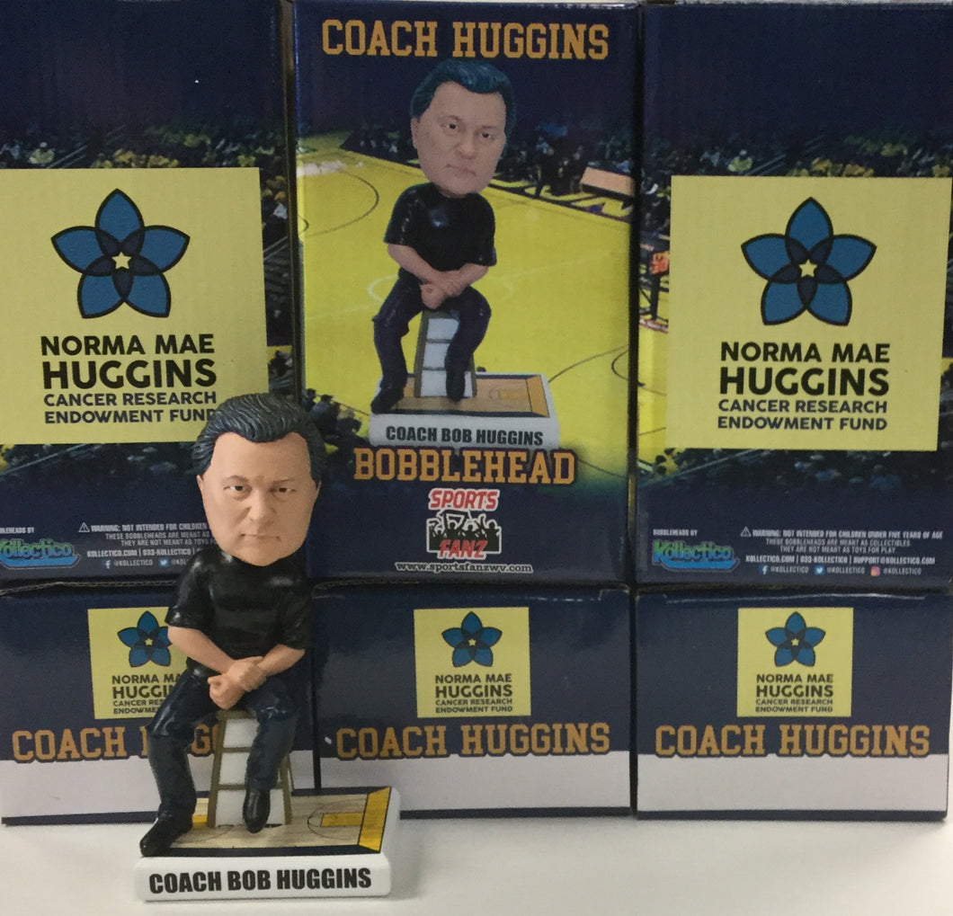 Bob Huggins West Virginia Mountaineers Bobblehead
