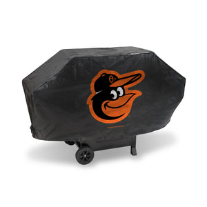 Baltimore Orioles Black Deluxe Grill Cover
