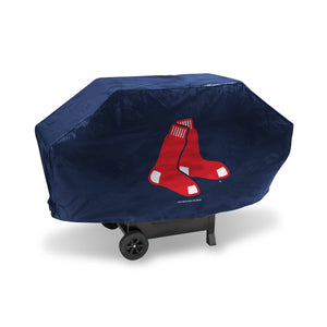 Boston Red Sox Navy Deluxe Grill Cover