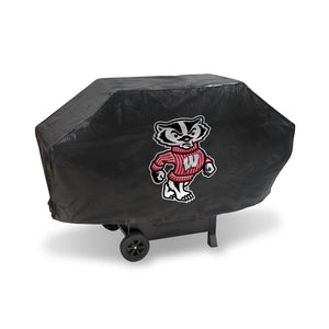 Wisconsin Badgers Deluxe Grill Cover