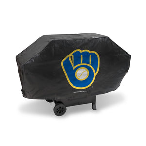 Milwaukee Brewers Deluxe Grill Cover