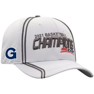 Georgetown Hoyas 2021 Big East Basketball Tournament Champions Locker Room Hat