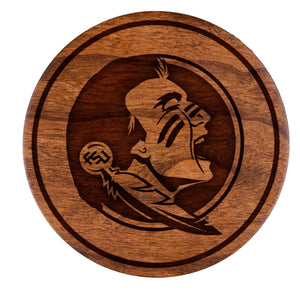 FSU Seminoles Cherry Coaster Set