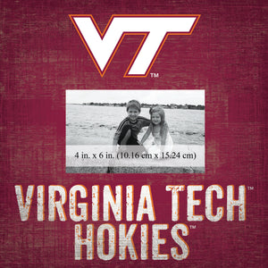 Virginia Tech Hokies Team Name Picture Frame