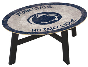 Penn State Nittany Lions Color Logo Wood Coffee Table