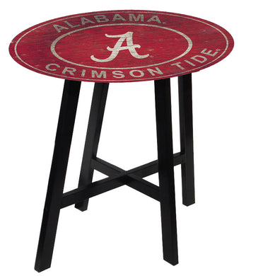 alabama crimson tide heritage pub table