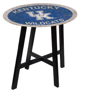 Kentucky Wildcats Team Color Pub Table