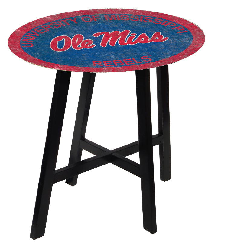 Ole Miss Rebels Team Color Pub Table