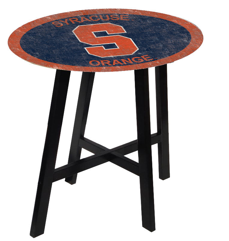 Syracuse Orangemen Team Color Pub Table
