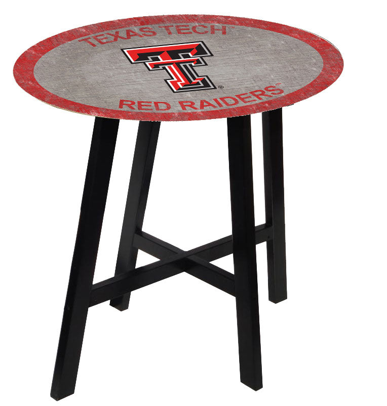 Texas Tech Red Raiders Team Color Pub Table