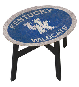 low priced 7113d dff21 Kentucky Wildcats Color Logo Wood Side Table