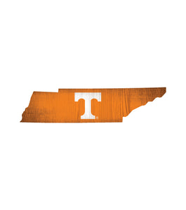 Tennessee Volunteers State Wood Sign