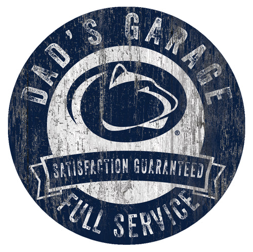 Penn State Nittany Lions Dad's Garage Sign