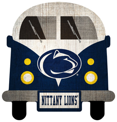 Penn State Nittany Lions Team Bus Sign