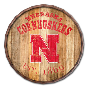 Nebraska Cornhuskers Established Date Barrel Top