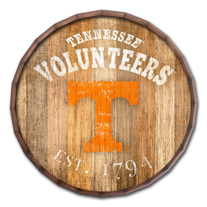 Tennessee Volunteers Established Date Barrel Top