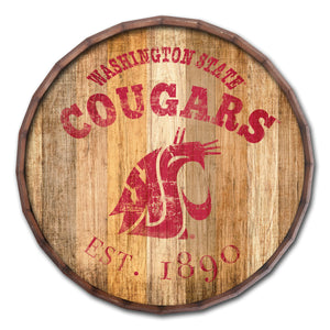 "Washington State Cougars Established Date Barrel Top -24""'"