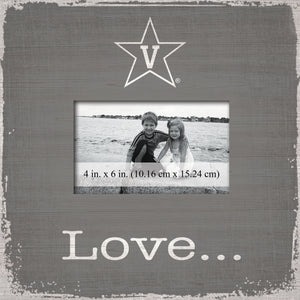 Vanderbilt Commodores Love Picture Frame