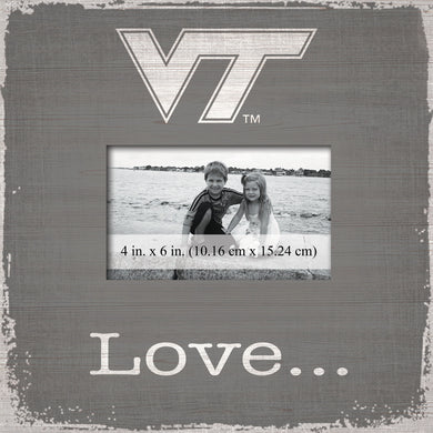 Virginia Tech Hokies Love Picture Frame