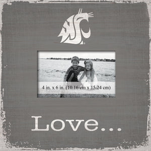 Washington State Cougars Love Picture Frame