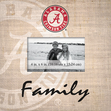 Alabama Crimson Tide Family Picture Frame
