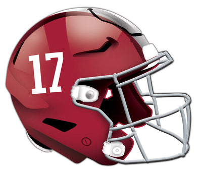 Alabama Crimson Tide Authentic Helmet Cutout