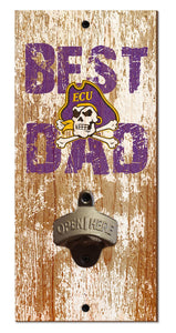 ECU Pirates Best Dad Bottle Opener