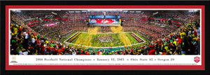 Ohio State Buckeyes 2014 CFP National Champions Panoramic Picture