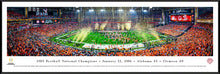 Alabama Crimson Tide 2015 CFP Football National Champions Panoramic Picture