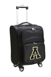 Appalachian State Mountaineers Luggage Carry-On 21in Spinner Softside Nylon